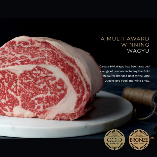 Buy Award Winning Wagyu Carrara Beef