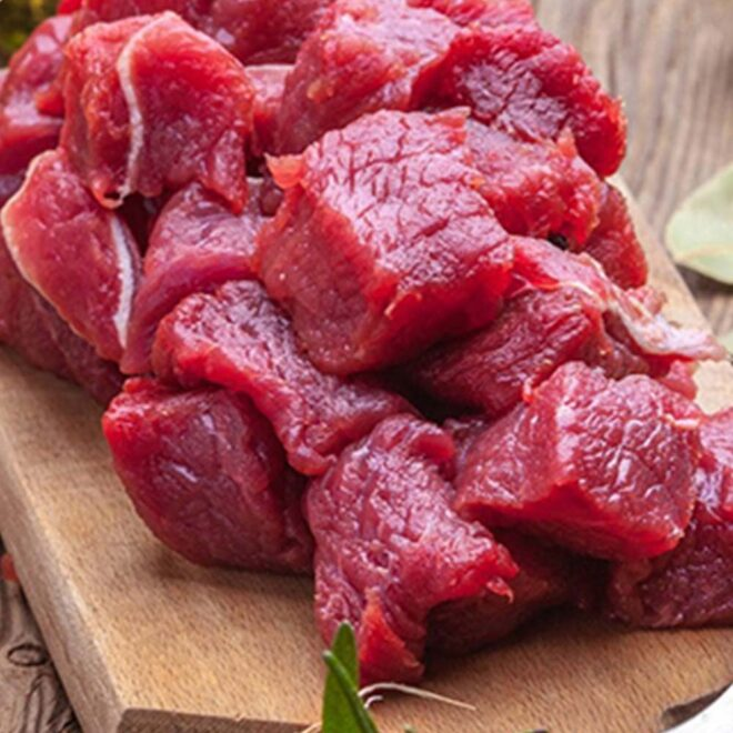 Buy Beef Defatted Cube - Butchers Guide