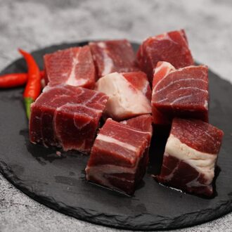 Beef Shin Cube – Buy Beef – Butchers Guide