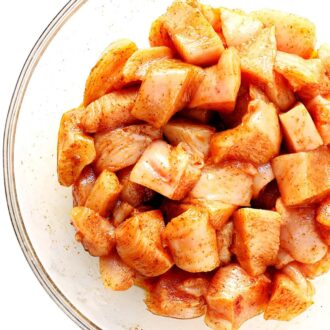 Chicken Marinated Cubes Online Delivery Singapore