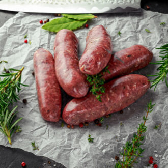 Beef-Butchers Guide-Beef-Sausage-uncooked