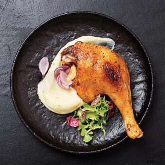 Duck Confit cooked