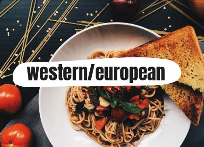 Western and European Flavours